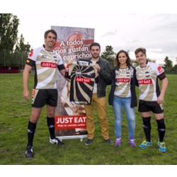 Justeat patrocinará al equipo de rugby Wiss the Mama