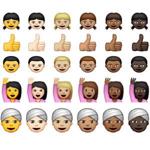 La última actualización de iOS trae un nuevo catálogo de emojis con amplia representación racial
