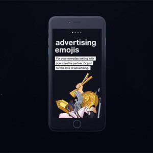 Métase en la piel de todo un director creativo con estos emojis tan publicitarios