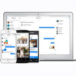 Facebook lanza la versión web de su Messenger