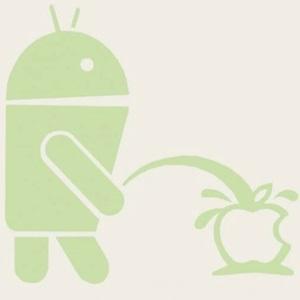 google maps android apple logo
