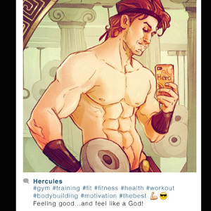 Los personajes Disney muestran palmito en Instagram