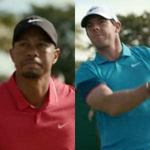 Nike cuenta una emotiva historia de superación de la mano de los golfistas Rory McIlroy y Tiger Woods