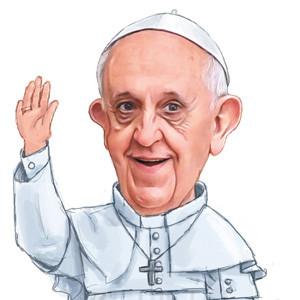 El Papa Francisco, el dios de Twitter
