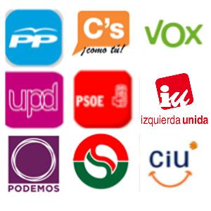 partidos politicos politica publicidad electoral institucional