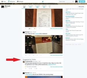 Twitter comienza a incluir publicidad en los perfiles de los usuarios