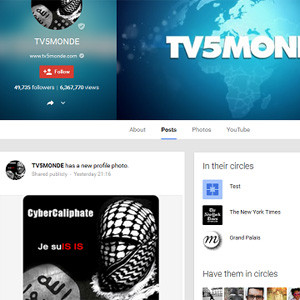 Los hackers del Estado Islámico ponen en jaque a la cadena francesa TV5 Monde