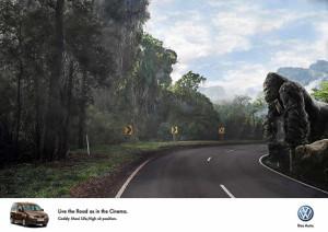 El séptimo arte se cuela en la nueva campaña publicitaria de Volskwagen