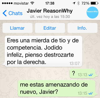 whatsapp javier