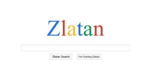 ¿Tiembla Google? El futbolista Zlatan Ibrahimovic estrena su propio buscador