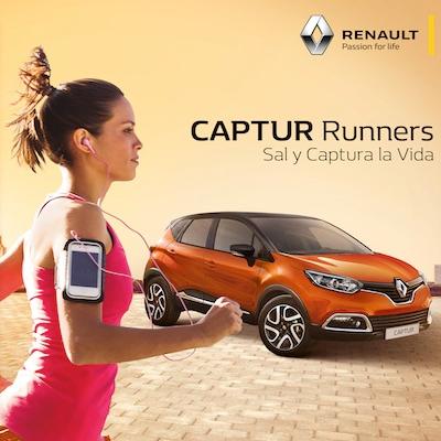 Renault Captur crea una nueva categoría de corredores: Captur Runners