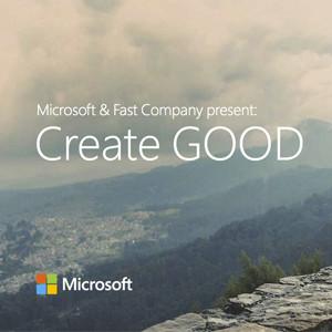 Microsoft Advertising lanza Create Good, un concurso que pone a los mejores creativos del mundo al servicio de una buena causa