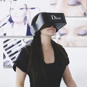 Dior crea junto con DigitasLBi los primeros auriculares de realidad virtual con sonido 360º e imagen integrados