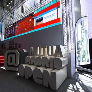 El Mutua Madrid Open se abre a la participación del público en tiempo real