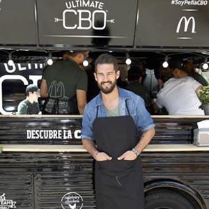 Un Food Truck de McDonald's trae la última receta del cocinero Peña