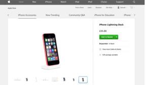 A Apple se le cuela en su página web una foto del que podría ser el iPhone 6C