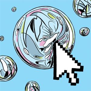 ¿Se está desinflando la burbuja digital? Quizás un poco