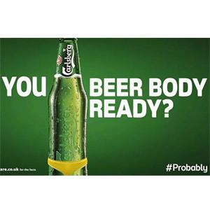 Carlsberg ya puede presumir de ser la marca que mejor elige sus emplazamientos publicitarios