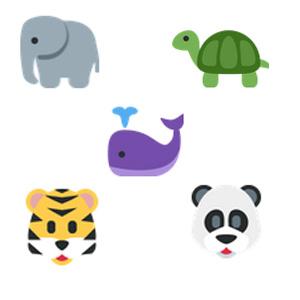 WWF convierte en emojis a los animales en peligro de extinción para librarlos de las garras de la muerte