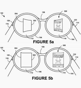 Las nuevas Google Glass podrían tener la pantalla curva