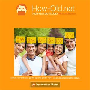 ¿Qué edad aparenta? Microsoft se lo dice en esta web (sin una