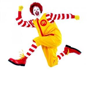 Ronald McDonald, despedido
