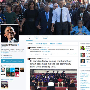 El presidente Obama se estrena en Twitter pulverizando todos los récords