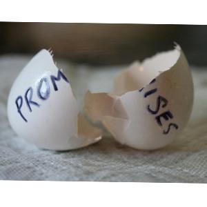 Prometer hasta vender y, una vez vendido, olvidar lo prometido, el