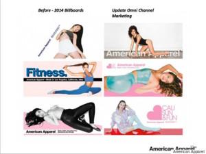 American Apparel firma definitivamente los papeles del divorcio con la publicidad excesivamente