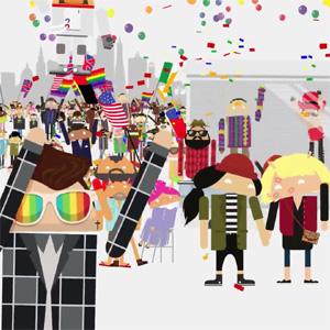 Android se suma a los festejos del Día del Orgullo Gay con un divertido desfile de androides