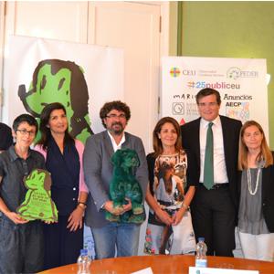 La titulación de Publicidad de la CEU-UCH y las organizaciones valencianas impulsan el