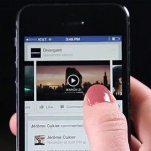 Facebook permitirá pagar por la publicidad en vídeo tras 10 segundos de visualización