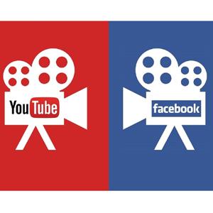 facebook youtube vídeo
