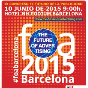 Profesionales del marketing, ponencias de lujo, grandes marcas y muchas novedades se dan cita mañana en #FOABarcelona