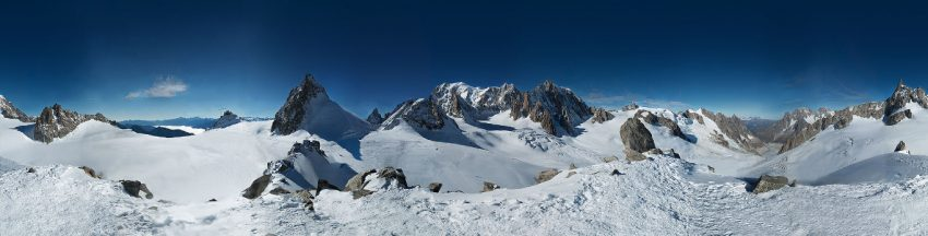Esta es la foto más grande del mundo: El Mont Blanc capturado en 365 gigapíxeles