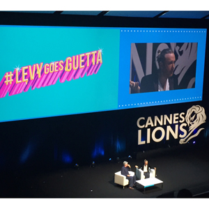 David Guetta en Cannes Lions: