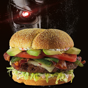 hamburguesa terminator red robin