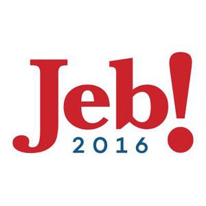 Jeb Bush, blanco de las bromas de Twitter con su logo para las presidenciales de EEUU de 2016