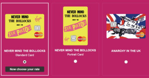Virgin Money apuesta por los Sex Pistols para reinventar la tarjeta de crédito