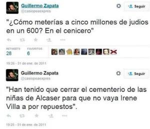 En la red todo pasa factura: un concejal de Ahora Madrid, en el ojo de la polémica por unos tuits ofensivos de 2011