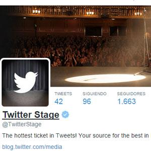 twitter stage