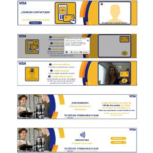 Nueva campaña para Visa Contactless
