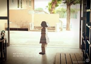 Estos inspiradores anuncios nos recuerdan cómo los libros forman parte de quiénes somos