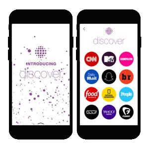 "Snapchat ""da puerta"" a Yahoo! y a Warner Music en Discover"
