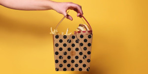 Cómo transportar y comer un Big Mac sin perder el glamour