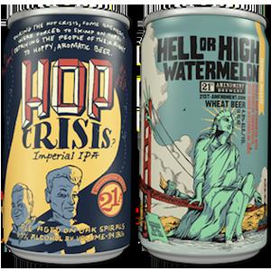 14 refrescantes diseños de latas de cerveza que le ayudarán a calmar su sed creativa