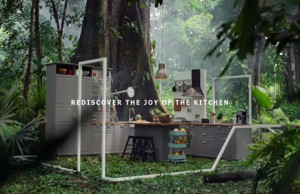 IKEA suelta a un grupo de monos (literalmente) en una cocina en su nueva campaña