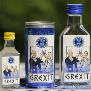 """Haciendo leña del árbol caído: """"Grexit"""", la marca que pretende revolucionar el mundo del vodka"""