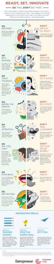 Lo que debe hacer (y lo que no) para poner en forma su cerebro y dejar fluir la creatividad