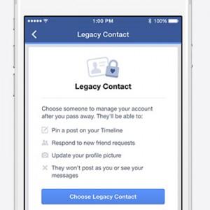 """Los usuarios europeos de Facebook ya pueden elegir """"heredero digital"""" en caso de fallecimiento"""